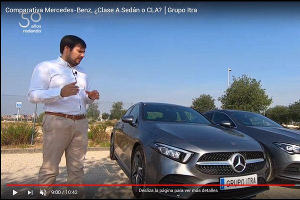 clase A Sedan VS CLA