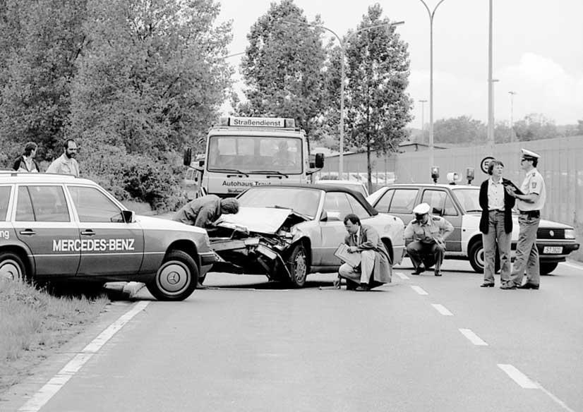 50 aniversaro investigacion accidentes departamento investigación seguridad mercedes benz alemania