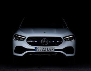 Mercedes GLA frontal