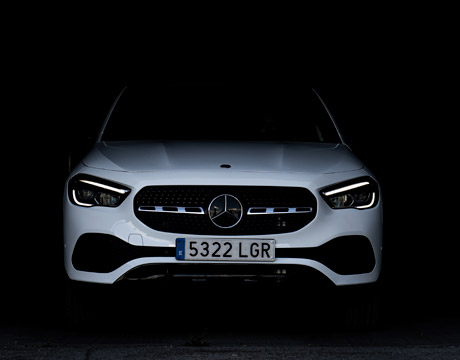 Mercedes GLA frontal
