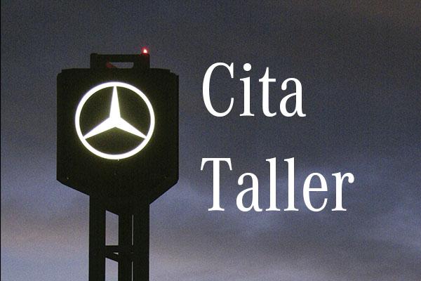 Mercedes Cita taller