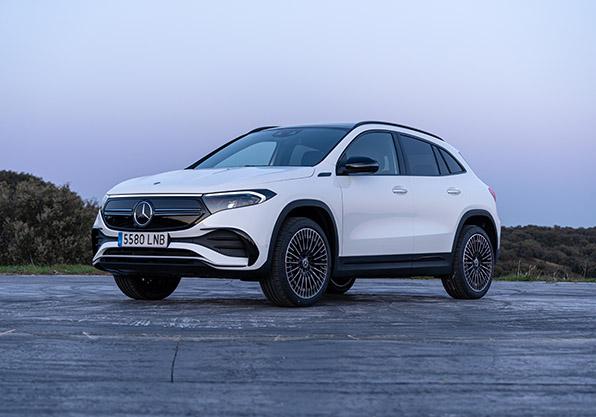 EQA-amanecer eléctrico eco Mercedes
