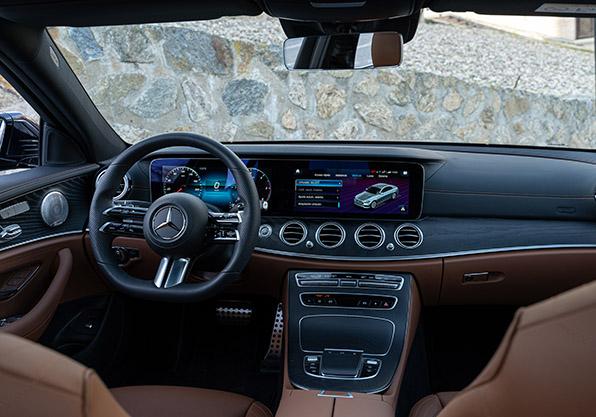 Consola central Mercedes Clase E