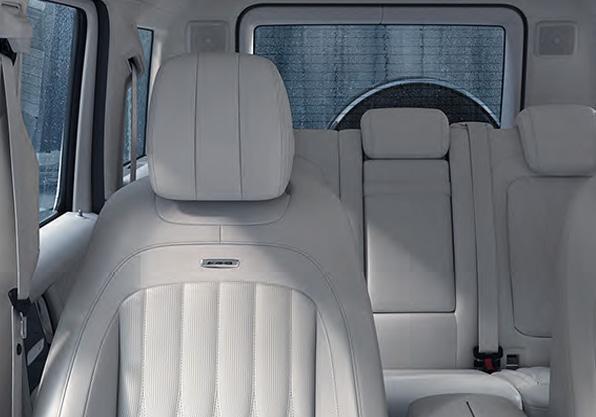 Mercedes Clase G interior asientos