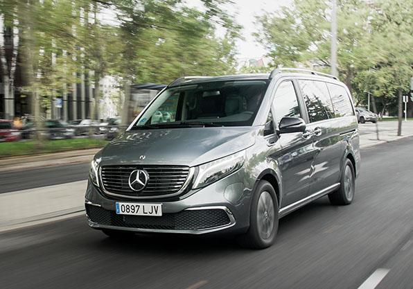 EQV furgoneta 8 px eléctrica Mercedes Benz