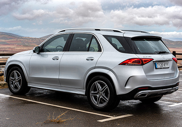 Mercedes GLE imagen lateral