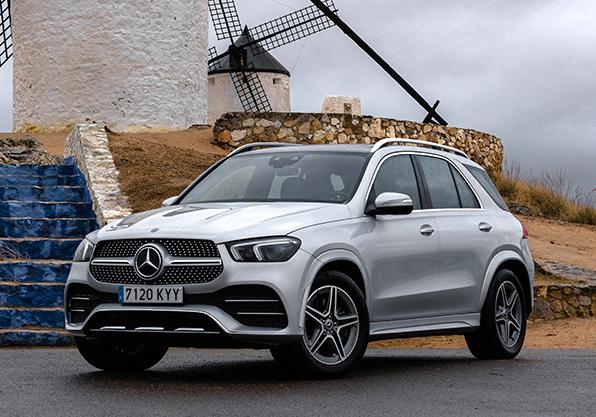 GLE-Mercedes-Benz nuevo coche lujo