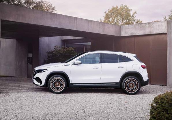 EQA Edition One. Mercedes-Benz eléctrico vista lateral