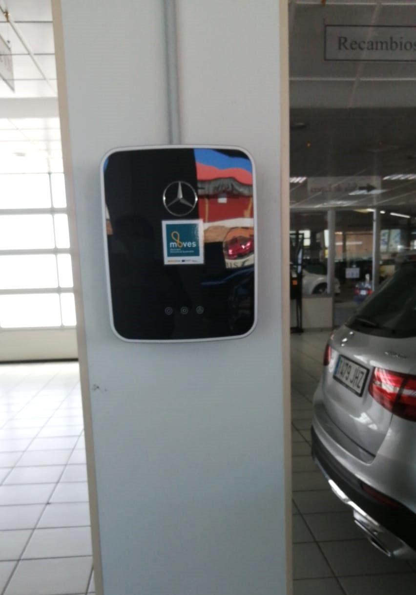 cargador electrico Ávila