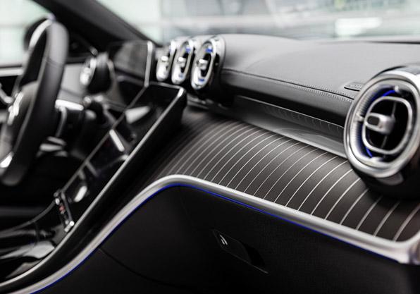 Mercedes Clase C estate interior