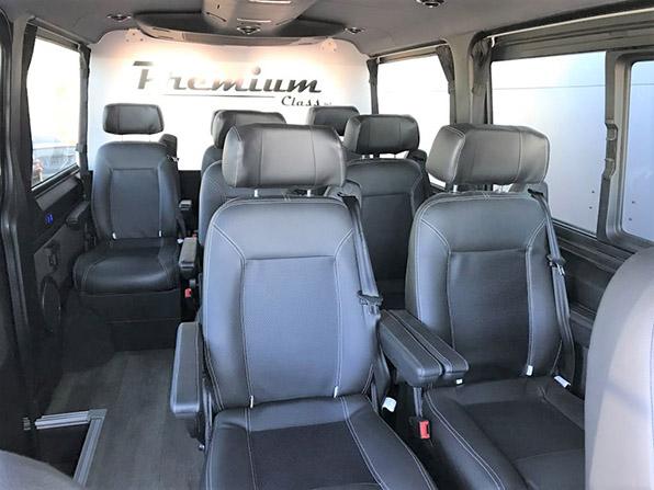 Microbus sprinter furgoneta mercedes pasajeros