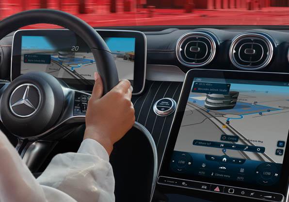 Nuevo Mercedes Clase C puesto conduccion
