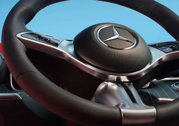 Mercedes Clase C berlina interior