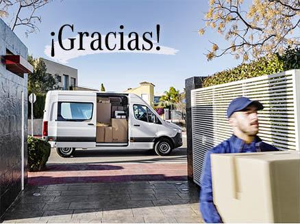 gracias paqueteros