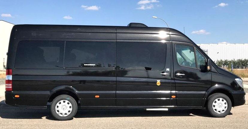 Microbús VIP Mercedes