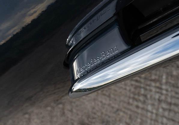 Mercedes Clase S tirador