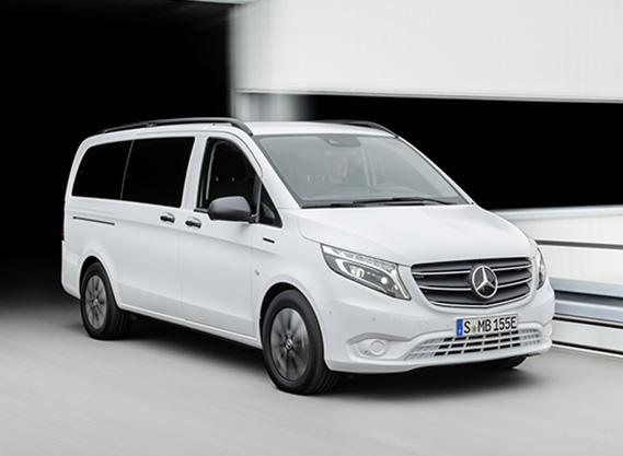 eVito furgoneta electrica Mercedes pasajeros
