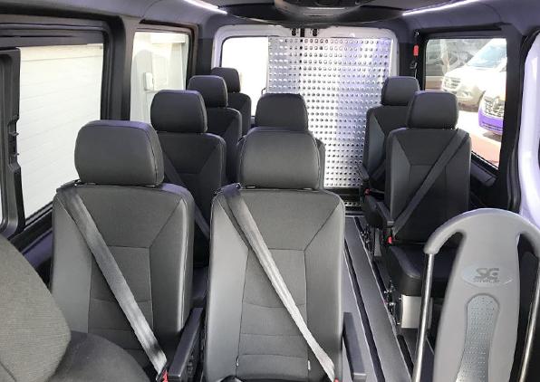 bus interior right hand drive