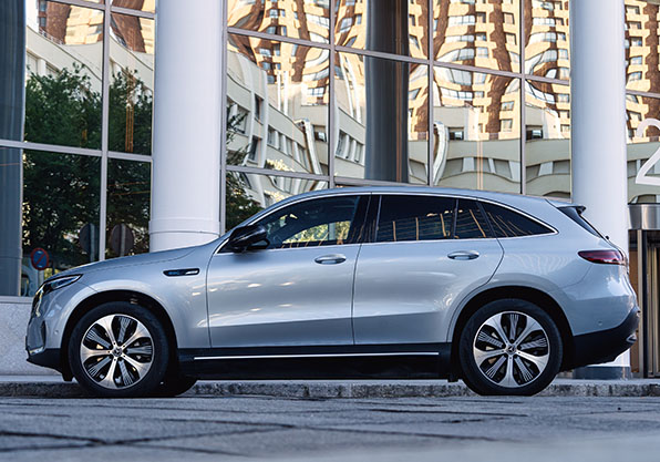 Mercedes EQC eléctrico