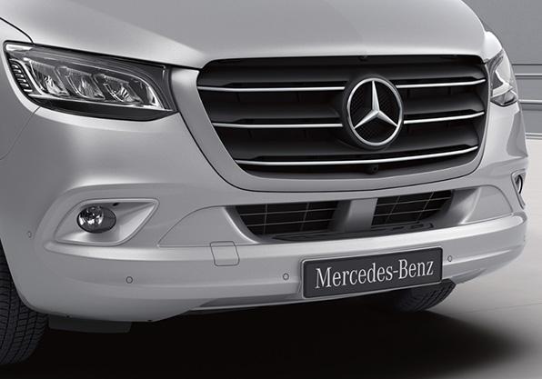 Mercedes-Benz parrilla sprinter mercedes furgoneta